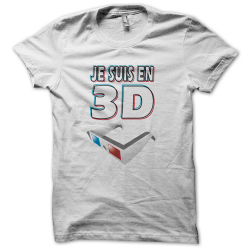 Tee-shirt original rigolo 3D