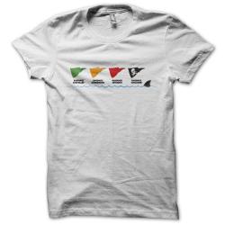 Tee-shirt original rigolo Baignade