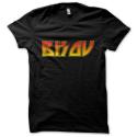 Tee-shirt original rigolo Bisou