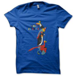 Tee-shirt original rigolo What's in a bird ?