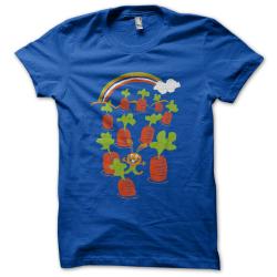 Tee-shirt original rigolo Au paradis des lapins