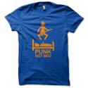 Tee-shirt original rigolo Punk not bed