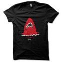 Tee-shirt original rigolo Red shark