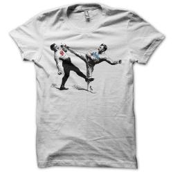 Tee-shirt original rigolo Great battle of rock n'roll