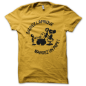 Tee-shirt original rigolo Sauvez l'Afrique