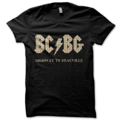 Tee-shirt original rigolo BC/BG