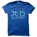 Tee-shirt original rigolo 3615 old geek