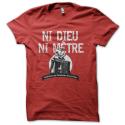 Tee-shirt original rigolo Ni Dieu, ni mètre