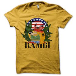 Tee-shirt original rigolo Rambi